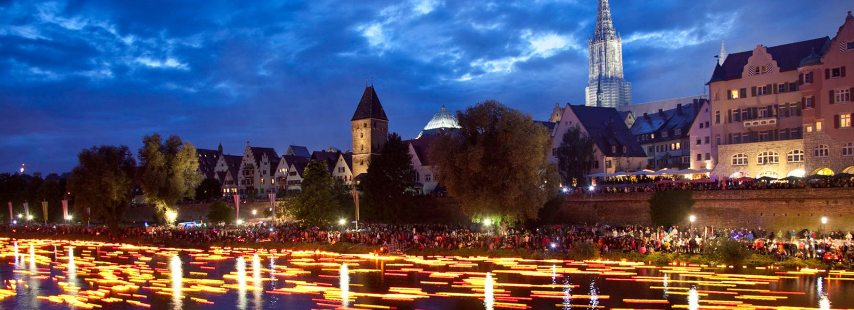 Lichterserenade in Ulm